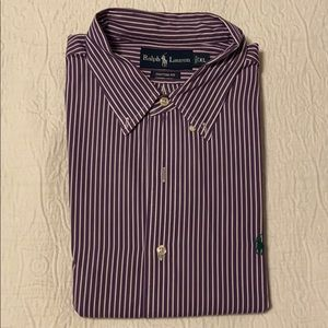 Men's Ralph Lauren Striped Button-Up